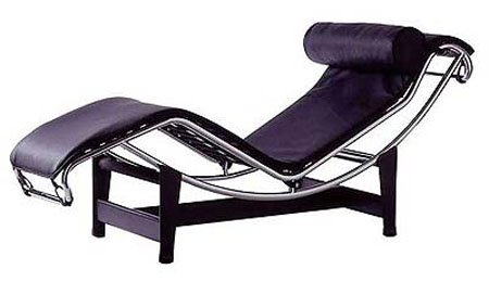 le corbusier designer of the famed modern chaise longue