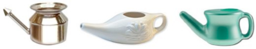 Different types of Neti Pots
