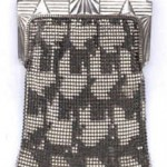 Art Deco Metal Mesh Purse