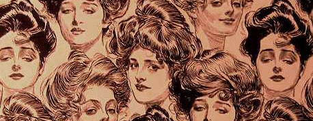 Gibson Girls | Vintage Sex Goddesses